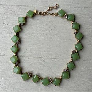J Crew Mint | Diamond Statement Necklace
